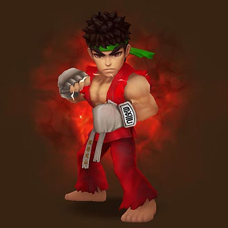 RYU FIRE STREET FIGHTER