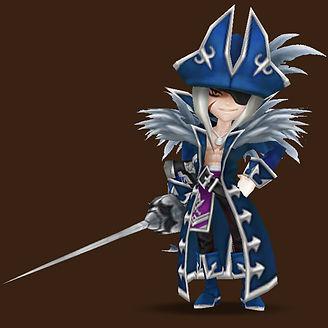 GALLEON water pirate captain