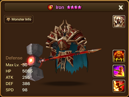 IRON Fire Living Armor