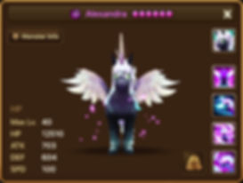 ALEXANDRA Dark Unicorn