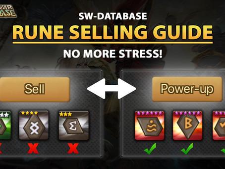 Summoners War Best Rune Selling Guide! (2021)