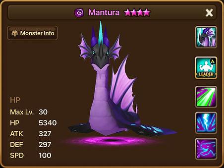 MANTURA Dark Serpent