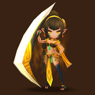 ZENOBIA Wind Boomerang Warrior