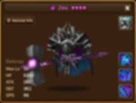 ZINC Dark Living Armor