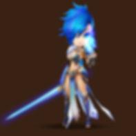 LAPIS Water Magic Knight