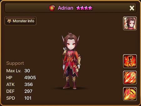 ADRIAN Fire Elven Ranger