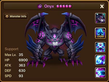 ONYX Dark Gargoyle