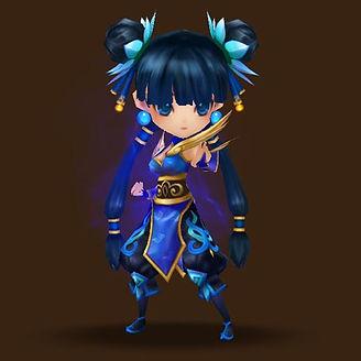 XIAO LIN Water Kung Fu Girl.jpg