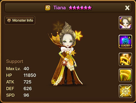 TIANA Wind Polar Queen