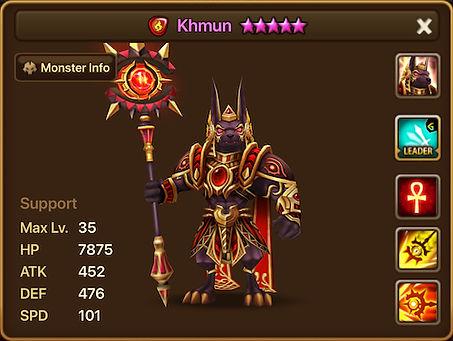 KHMUN Fire Anubis