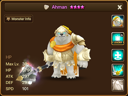 AHMAN Light Bearman