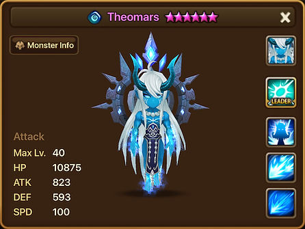 THEOMARS Water Ifrit