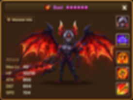 BAEL Fire Demon