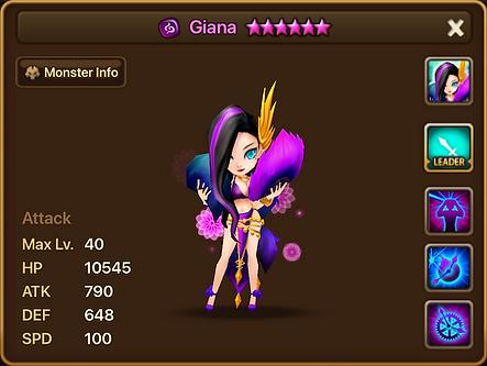 GIANA Dark Oracle