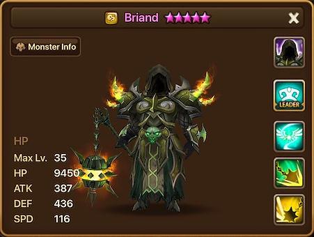 BRIAND Wind Death Knight