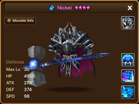 NICKEL Water Living Armor