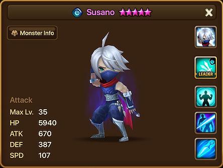SUSANO Water Ninja
