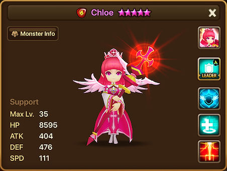 CHLOE Fire Epikion Priest