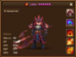 LAIKA Fire Dragon Knight