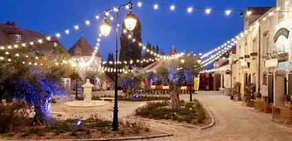 Le Village de Sully la nuit