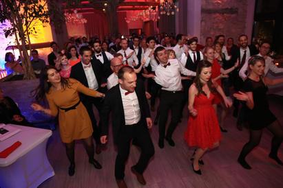 Ambiance dansante au Clos de l'Orangerie