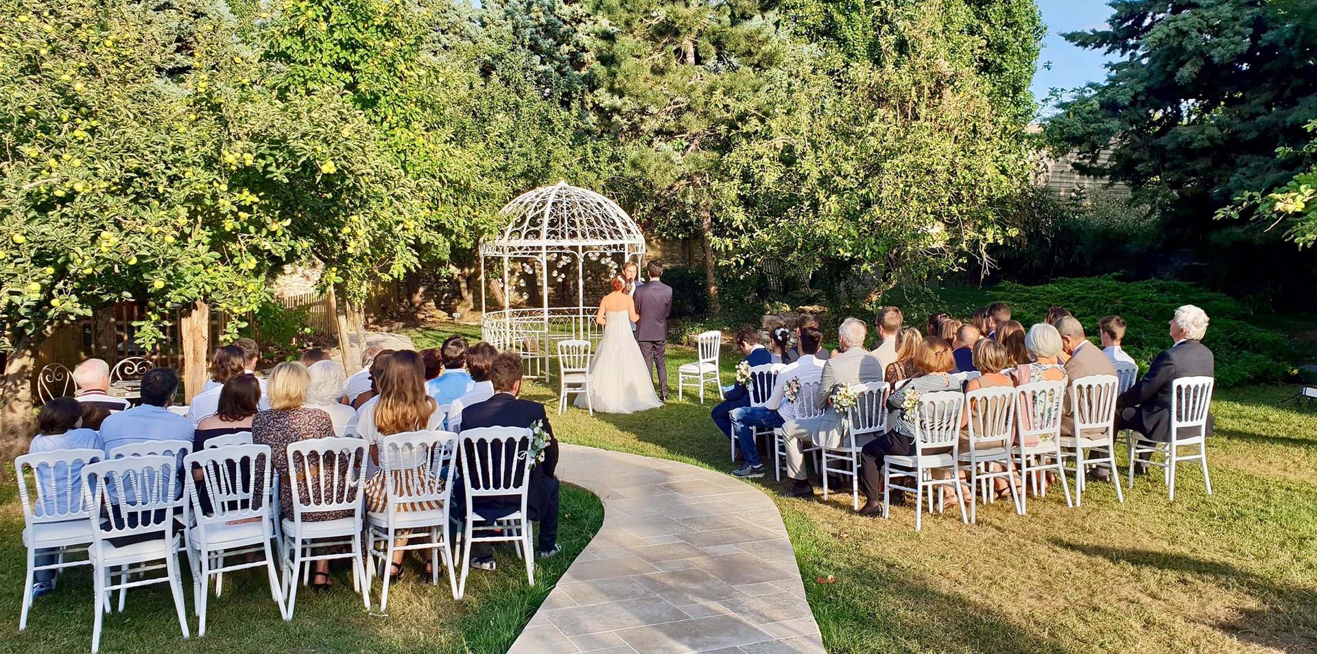 Cérémonie laïque - Clos de L'Orangerie