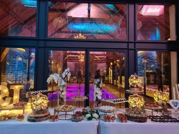 Buffet au Clos de l'Orangerie