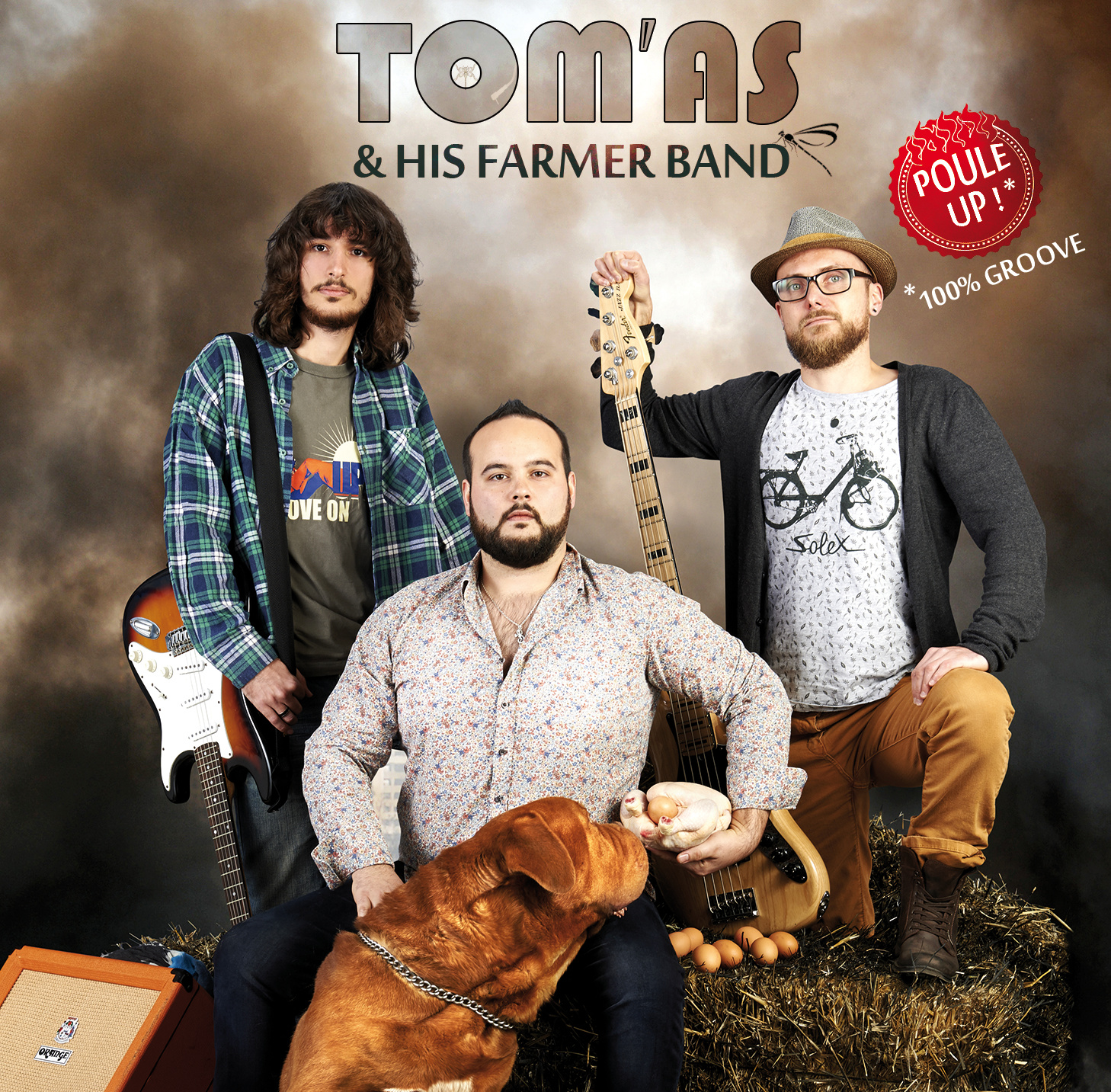 Tom'As & His Farmer Band ban - Poule - Up