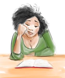 My Wife Reading