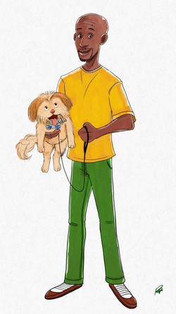 Dude With Dog