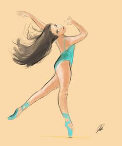 Ballet Sketch 7