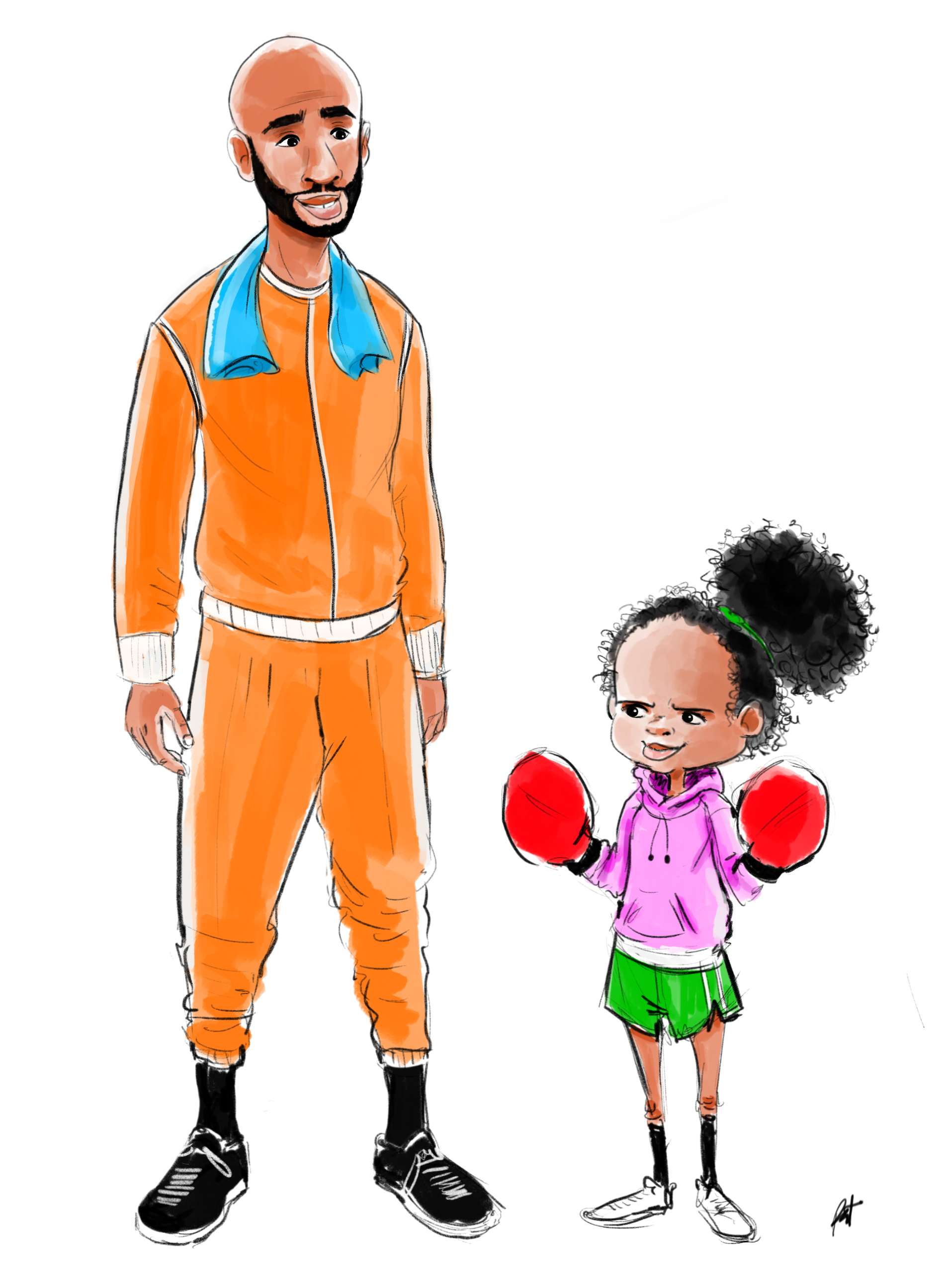 The Champ and Me - Early Design