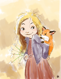 Kid With Fox