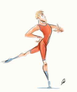 Ballet Sketch 6
