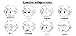 Ryan Facial Expressions