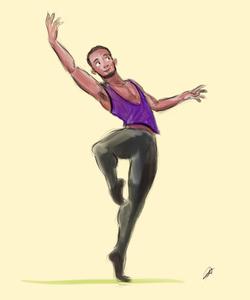 Ballet Sketch 3