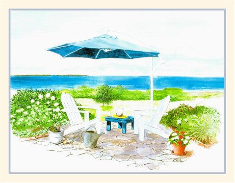 NC-The Blue Umbrella