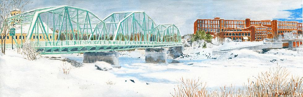 The Green Bridge in Winter
