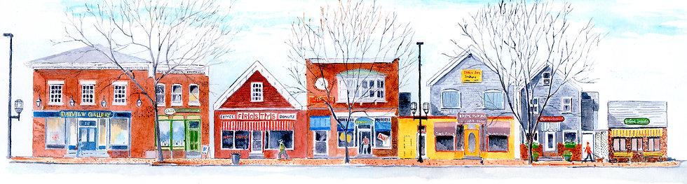 P-Maine Street, Bayview Block, Brunswick, Maine