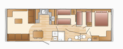 BORDEAUX 3 BED