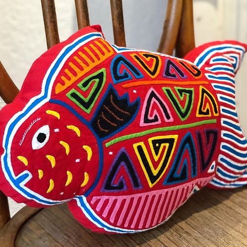 """Coussin """"poisson Rouge"""" Ethic & Tropic"""