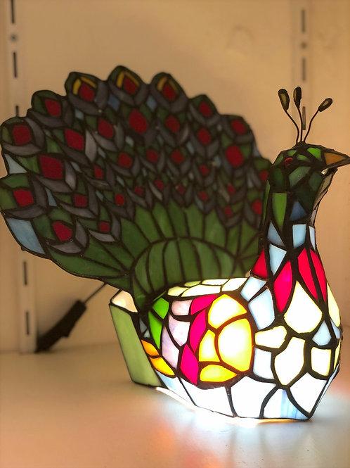 Lampe PAON - style Tiffany