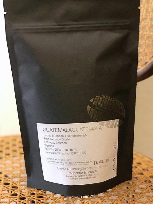 Cafl Guatemala El Rincon 100% arabica (moulu)  250g