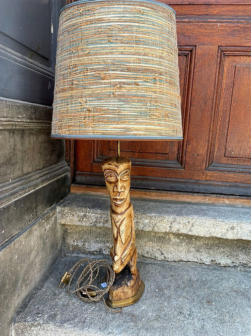Lampe avec pied corne de buffle 60's