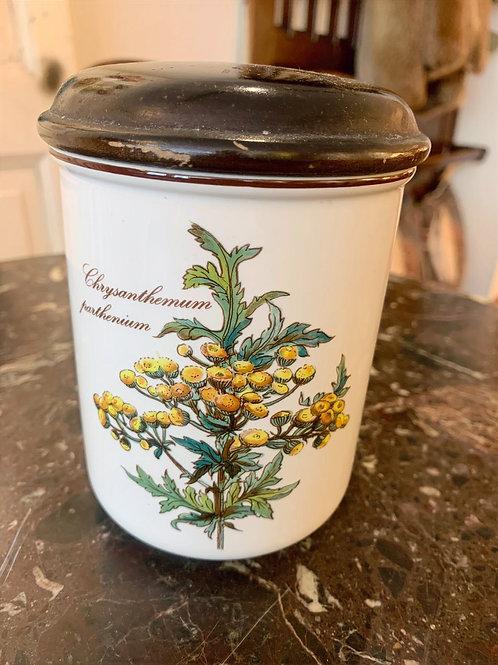 """Pot à épices en Villeroy & Boch """"Modèle Botanica Chrysanthenum parthenium"""