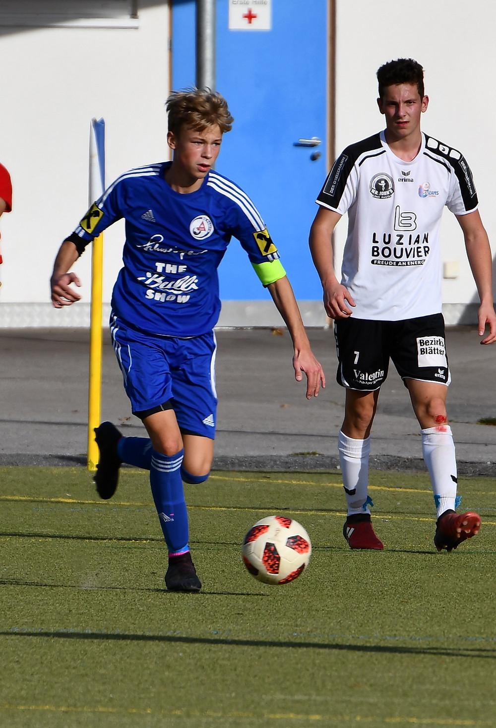 U18-Kapitän Titus Schumacher
