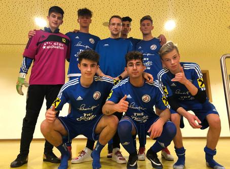 U18 - Turniersieg bei 1. Runde der TNHMS