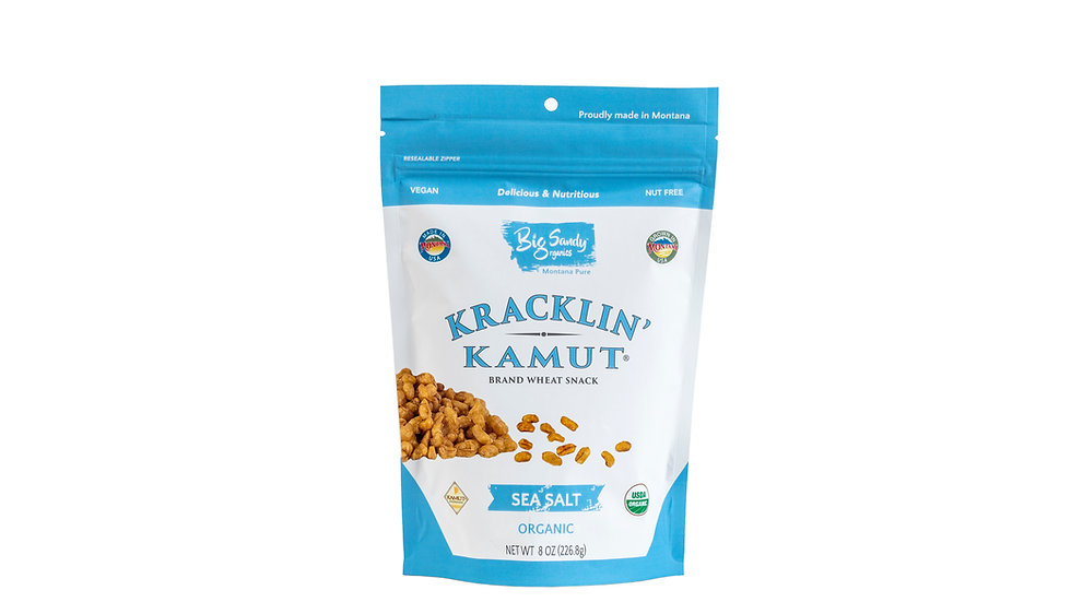 Sea Salt- Kracklin' KAMUT® Brand Ancient Grain