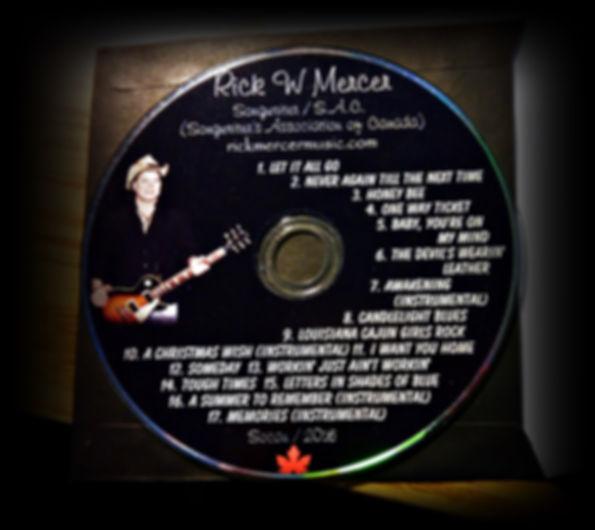 Rick Mercer Music CD