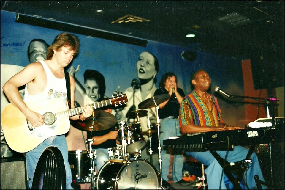 On stage with Curly Bridges / 2001